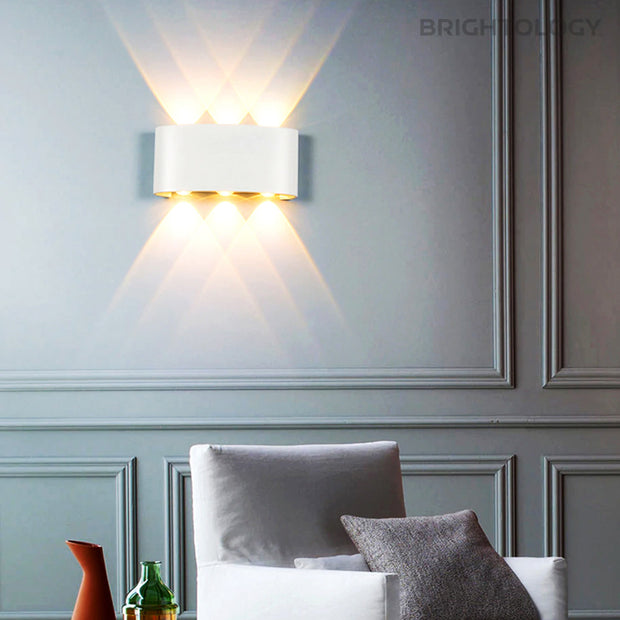 Drum Indoor + Outdoor Sconce