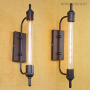 Industrial Open Bar Sconce