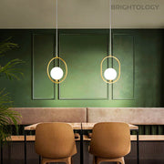 Modern Brass Pendant Lights