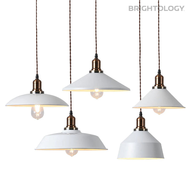 Wide Lamp Pendant Light
