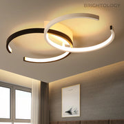 Modern Overlapping Ceiling Lights