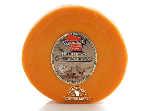 Colby Traditional Longhorn Cheese Henning's