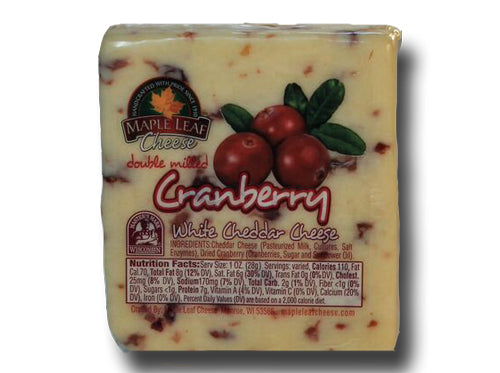 Cheddar Cheese Cranberry White