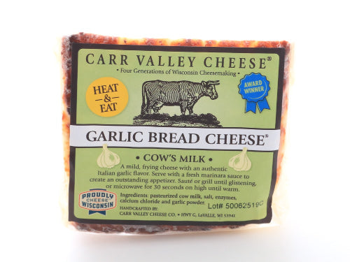 Carr Valley Bread Cheese with Garlic