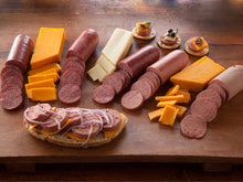 Load image into Gallery viewer, Cheese and Sausage Gift Sampler