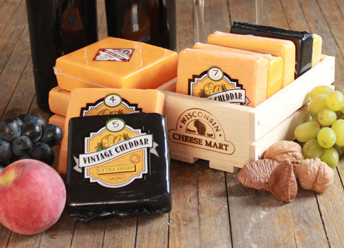 Cheddar Flight Gift Crate