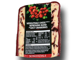 Wensleydale Cranberry Cheese