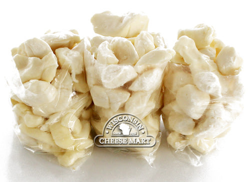 Cheddar Cheese Curds White 3 Pounds