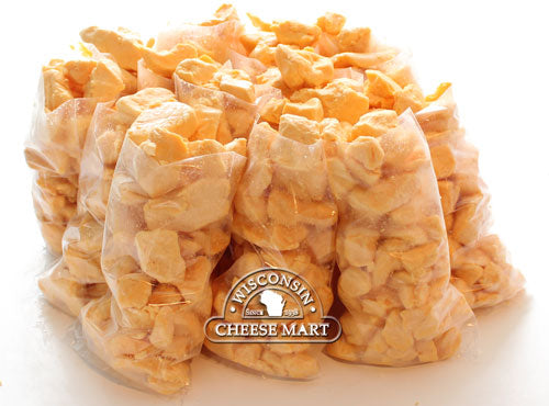 Cheddar Cheese Curds Yellow 15 Pounds