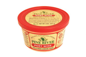 Port Wine Cheese Spread 1 Pound
