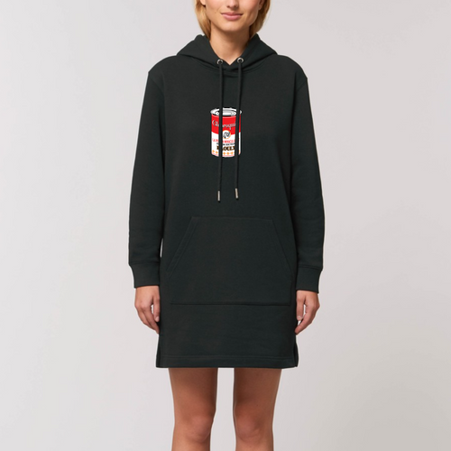Robe Sweat Femme 100% Bio | CAMPBELL CAN PANDEMIX® | Flymetothemood
