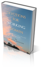Load image into Gallery viewer, Devotions for Working Women Cover Photo 2 Daily Devotional Godly Woman Encouraging Inspirational