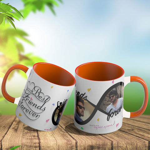 Personalized Coffee Mug With Dual Color Handle