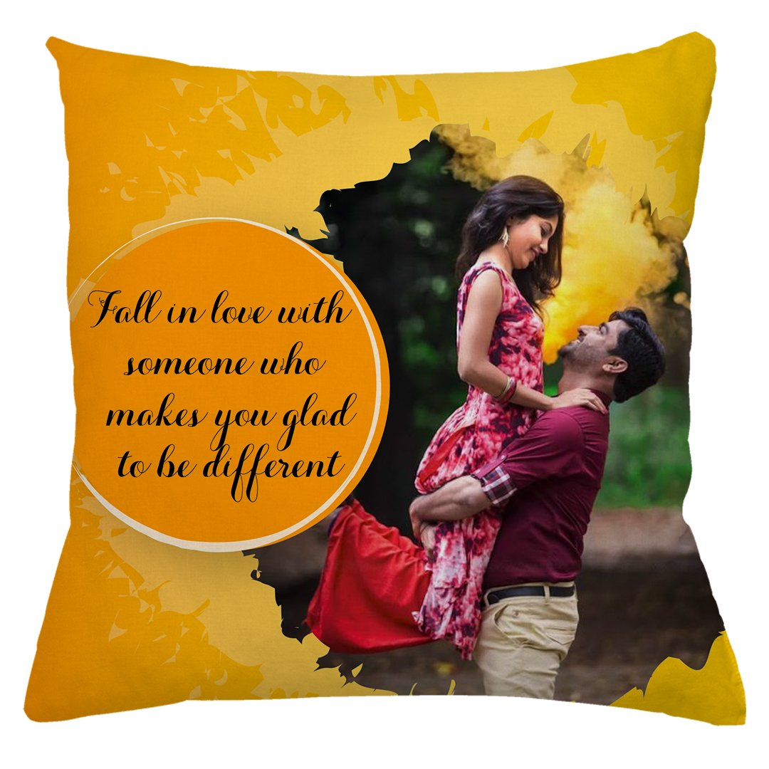 Personalized Couple Photo Cushion