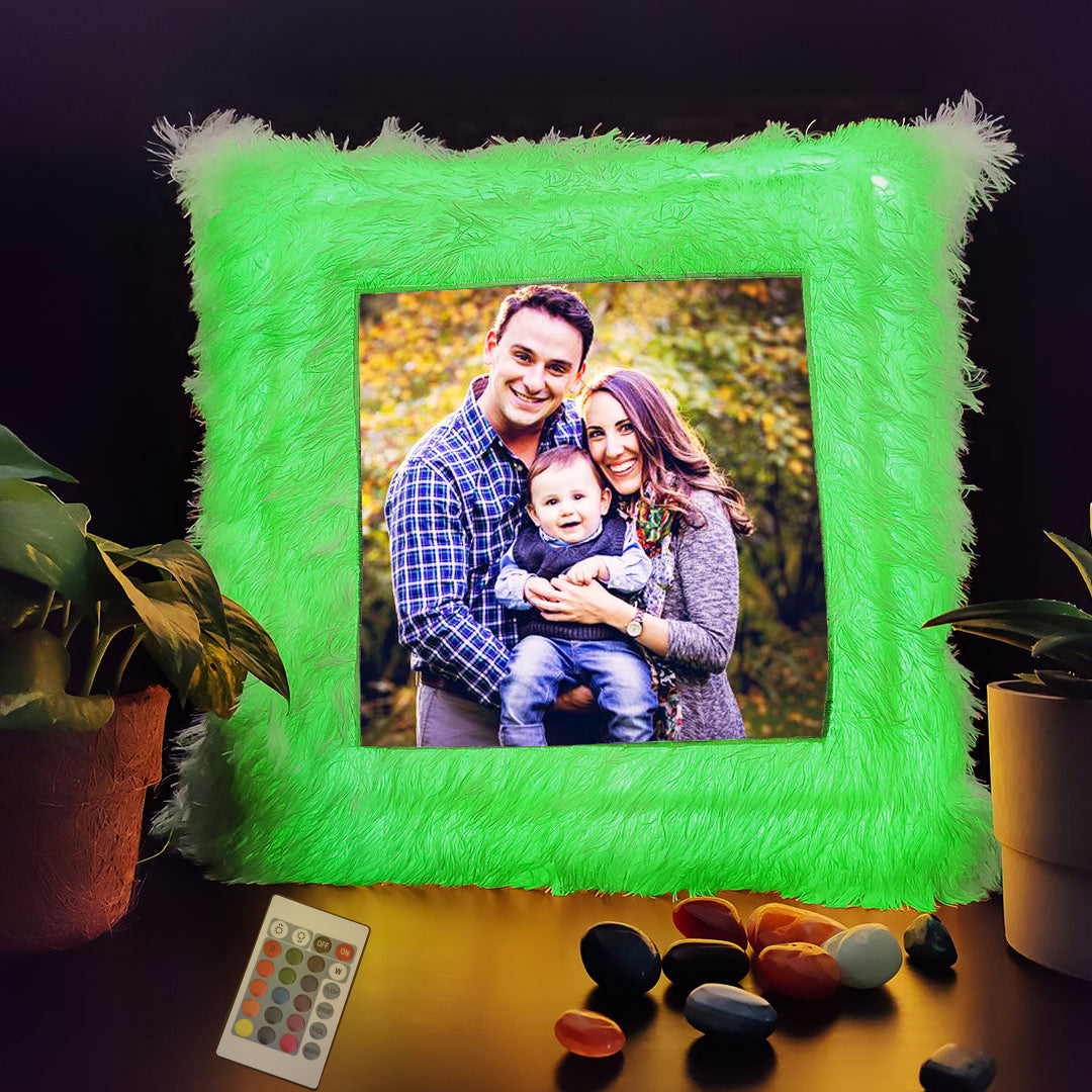 Personalized LED Cushion Square (With Remote)