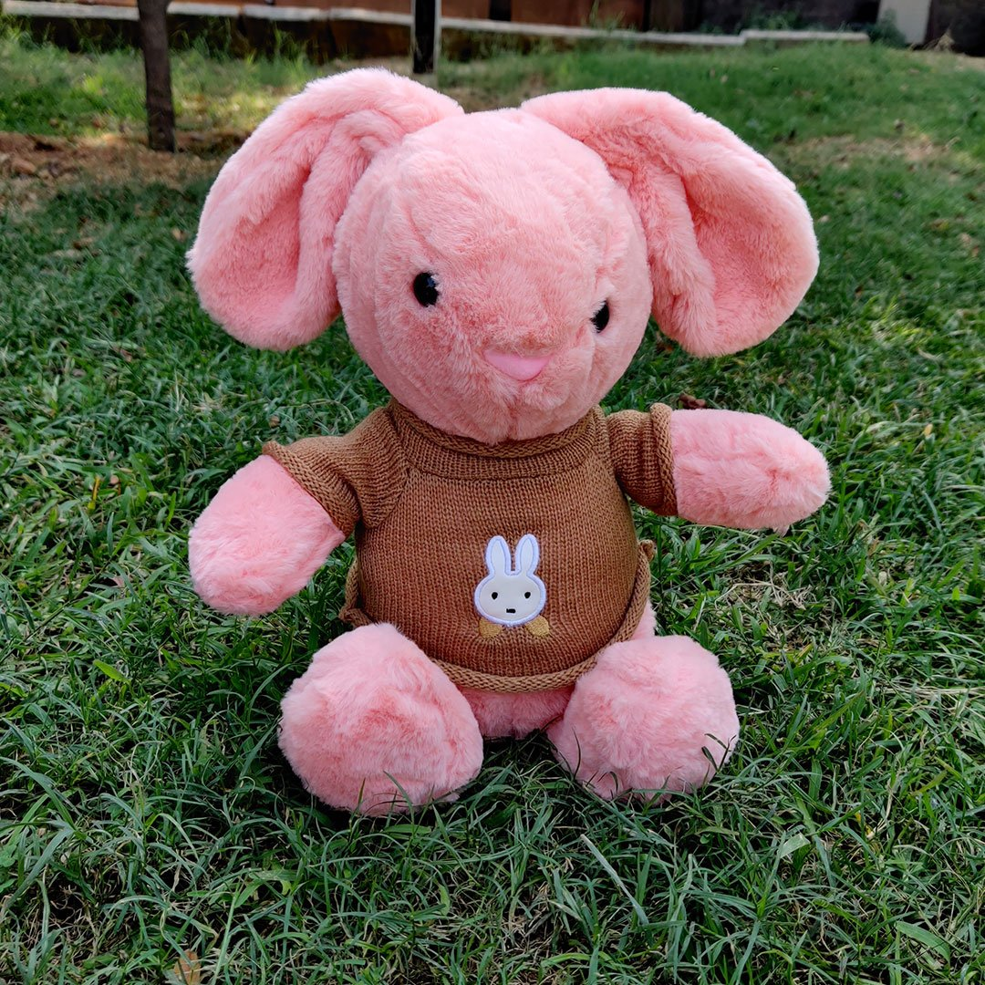 Pink Little Rabbit Soft toys