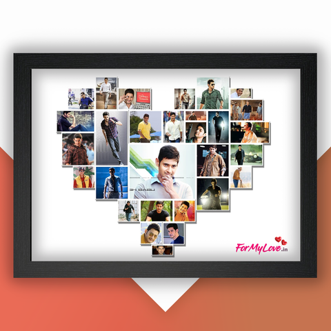Frame Your Memories In A Heart