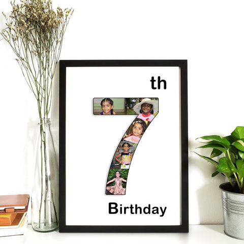 Personalized Frame The Number