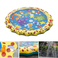 100cm Inflatable Spray Water Cushion Summer Kids Play