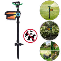 Solar Powered Motion Activated Animal Repellent Sprinkler