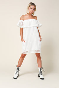 Zurie Off Shoulder Dress