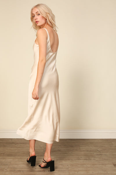 Loulou Satin Dress