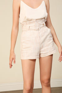 Pascal Belted Shorts