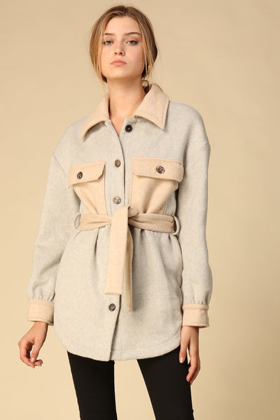 Harrison Belted Jacket