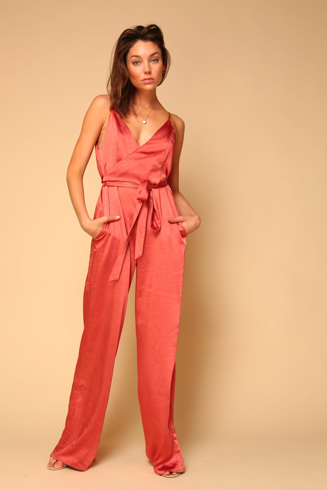 Dawn Surplice Jumpsuit