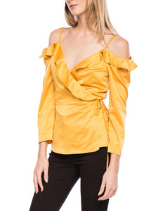 Sasha Cold Shoulder Top