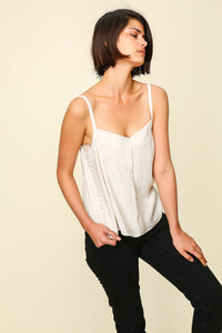 Fiona Side Button Down Tank
