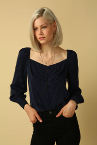 Millie Square Neck Blouse