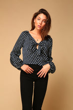 Load image into Gallery viewer, Elsie Tie Front Blouse
