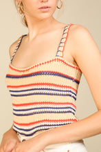 Load image into Gallery viewer, Savannah Sweater Tank Top