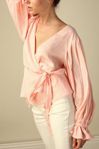 Mindy Wrap Top