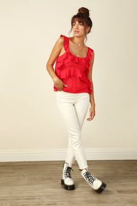 Karla Ruffled Top