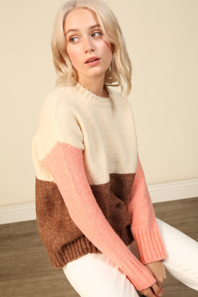 Middleton Color Block Sweater