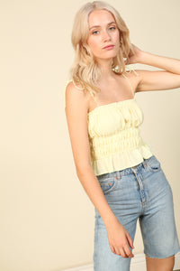 Ray Smocked Cami Top