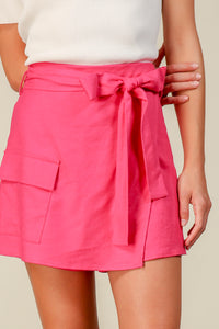 Kinn Wrap Front Shorts