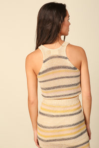 Summer Nights Sweater Tank Top