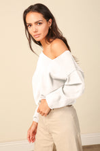 Load image into Gallery viewer, Favorite Off Shoulder Sweater