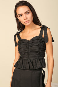 Blaque Ruched Top