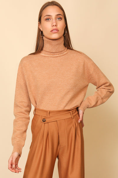 PALMER CUT OUT TURTLENECK