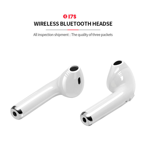 I7s Tws Wireless Bluetooth Earphones Handsfree Headphones Sports Earbuds With Mic Charging Box For iPhone Xiaomi😍😍
