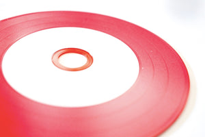 Red Color Vinyl CD-R 100pack