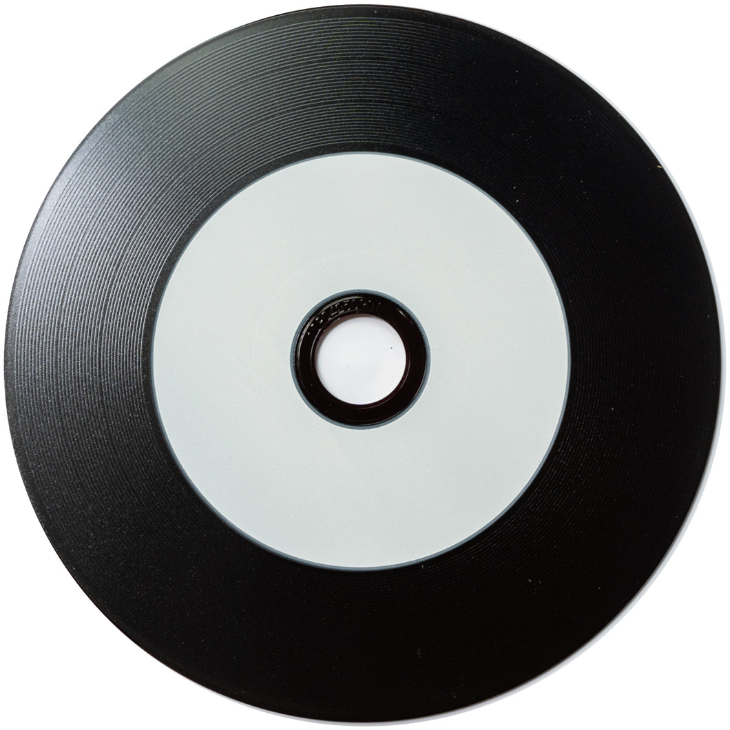 Black Vinyl CD-R 100pcs