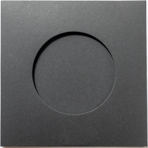 Cardboard CD Sleeve 100pack (Black)