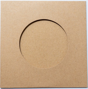 Vinyl CD-R and Kraft Sleeves 50pcs