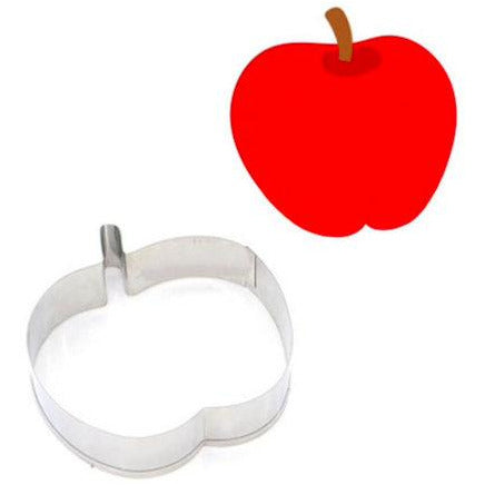 APPLE COOKIE CUTTER (STAINLESS STEEL)
