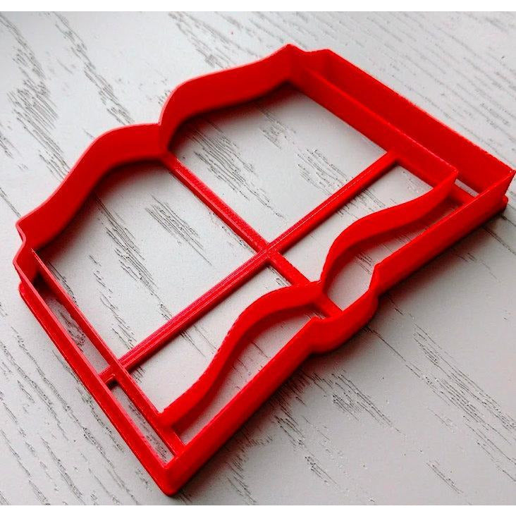 OPEN BOOK COOKIE CUTTER